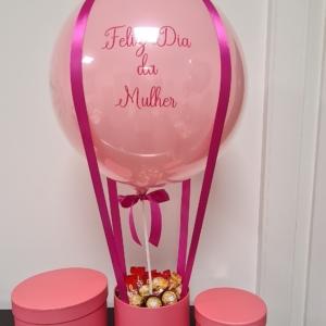 balloon box dia mulher