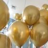 balões crome gold