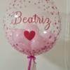 Bubble pink confetis