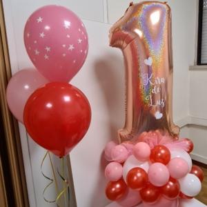 Balão foil com base