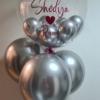 Bubble com baloes hélio