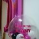 bubble com numero