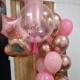 Refª17 Pink pastel com balões